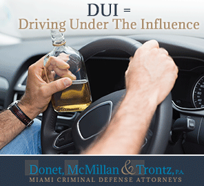 Picture of Man Driving Under the Influence