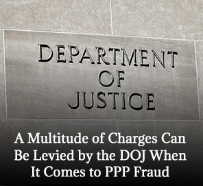 The Department of Justice Building Where Fraud Charges Are Being Processed